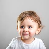 Baby smiling Stock Image