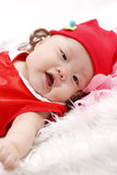 Baby smiling face Royalty Free Stock Photography