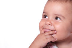 Baby smiling Royalty Free Stock Photos