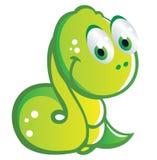 Baby snake cartoon Stock Image