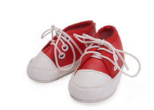 Baby sneakers Royalty Free Stock Photo