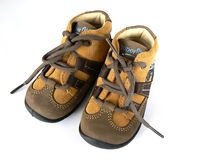 Baby sneakers Stock Image