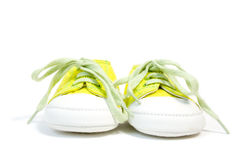 Baby sneakers Royalty Free Stock Photography