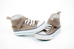 Baby sneakers Royalty Free Stock Image
