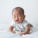 baby sneezing Royalty Free Stock Photos
