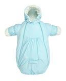 Baby snowsuit bag Stock Photos