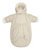 Baby snowsuit bag Stock Image