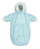 Baby snowsuit bag Royalty Free Stock Image