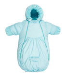 Baby snowsuit bag Royalty Free Stock Photography