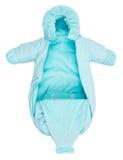 Baby snowsuit bag Royalty Free Stock Photo