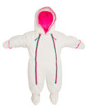 Baby snowsuit Coat Royalty Free Stock Image