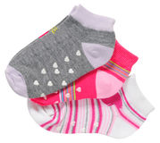 Baby socks. Stock Photos