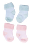 Baby socks Stock Images