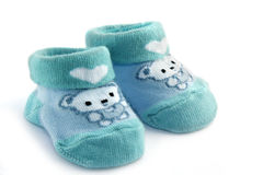 Baby socks Stock Photo