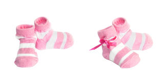 Baby socks Stock Photos