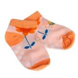 Baby socks Royalty Free Stock Image