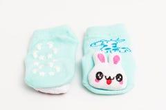 Baby socks isolated on white background Stock Photography
