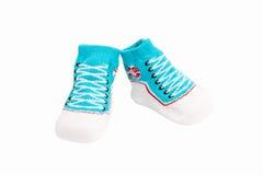 Baby socks isolated on white background Royalty Free Stock Photography