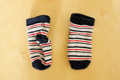 Baby socks Royalty Free Stock Photography