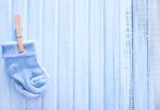Baby socks Stock Image