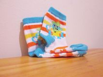 Baby Socks. Royalty Free Stock Image