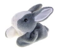 Baby soft toy. cute rabbit soft toy Stock Photo