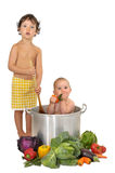 Baby soup Stock Photos