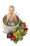 Baby soup Stock Photos