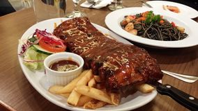 Baby spare ribs Stock Photography