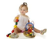 Baby-Spiel Lizenzfreie Stockfotos