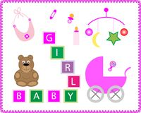 Baby-Spielwaren lizenzfreie stockfotografie