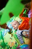 Baby-Spielwaren und Baby Lizenzfreie Stockbilder