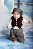 Baby standing Stock Photo
