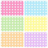 Baby star patterns Stock Images