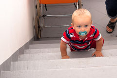 Baby steps Royalty Free Stock Images