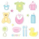 Baby stickers Stock Photo