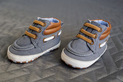 Baby strap shoes Royalty Free Stock Photography