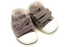 Baby strap shoes Stock Photography