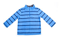 Baby Stripe Fleece Top Royalty Free Stock Image