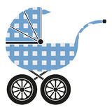 Baby stroller Royalty Free Stock Photos