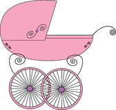 Baby stroller Stock Image