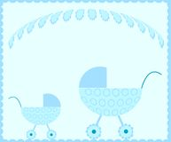 Baby stroller Royalty Free Stock Images