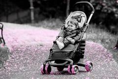 Baby stroller Royalty Free Stock Photos