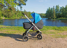 Baby stroller Royalty Free Stock Image