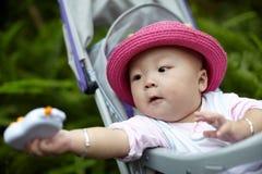 Baby in stroller Stock Photos