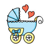 Baby stroller Stock Photography