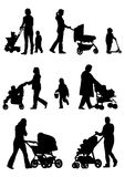 Baby strollers Stock Photos