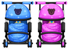 Baby strollers Stock Image