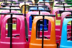 Baby Strollers in a Zoo Royalty Free Stock Image