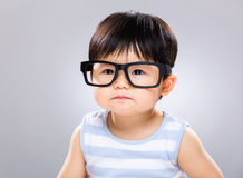 Baby student Royalty Free Stock Photography